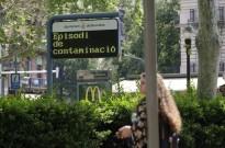 Vés a: La Generalitat declara episodi per alta contaminació per partícules a tot Catalunya