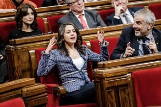 Vés a: Cs portarà al Constitucional els vots de Puigdemont i Comín