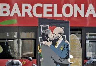 Vés a: La nova obra d'art de Tvboy sorprèn als vianants del centre de Barcelona