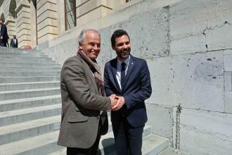 Vés a: L'alcalde de Ginebra ofereix Suïssa per mediar entre Catalunya i Espanya