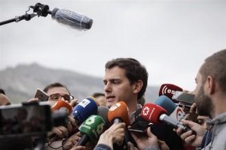 Vés a: Rivera acusa l'Estat de beneficiar Puigdemont quan assegura que el Govern no va pagar l'1-O