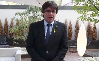 Vés a: VÍDEO «Gaudim-lo malgrat molts no podrem ser-hi»: el missatge de Puigdemont per Sant Jordi