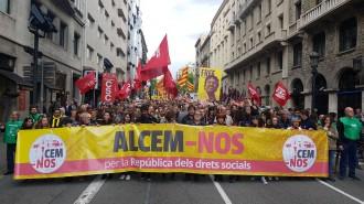 Vés a: La Intersindical-CSC es reunirà amb agents polítics i socials per respondre davant el 155