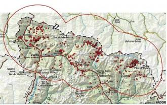 Vés a: La Generalitat delimita la zona amb presència permanent d'óssos bruns