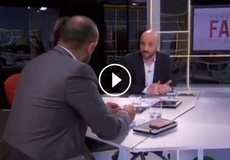 Vés a: Graupera, a Cañas: «El desig de futur català no desapareixerà encara que Torra faci tombarelles al Senat»