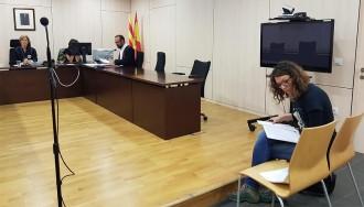 Vés a: Vist per sentència el judici contra l'alcaldessa de Berga per no retirar l'estelada