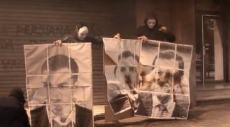 Vés a: Arran crema fotografies davant de la seu del PP de Barcelona contra el 155