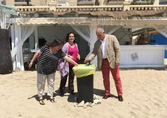 Vés a: L'Ajuntament presenta la campanya de reciclatge «RE Sitges»