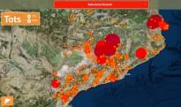 Vés a: La meteorologia redueix els incendis forestals en el millor estiu dels darrers 15 anys
