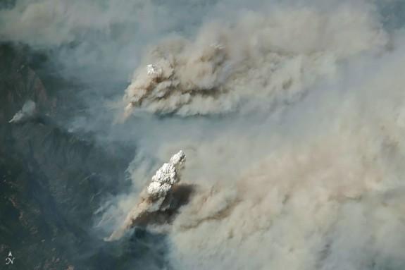 Vés a: La increïble foto de la NASA que mostra l'abast dels incendis a Califòrnia