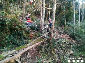 Vés a: Els Agents Rurals denuncien fins a 7 motoristes al Collsacabra i a Maçanet de la Selva