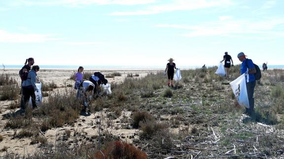 Vés a: Més de 200 voluntaris recullen cinc tones de deixalles en la campanya Per un Delta Net