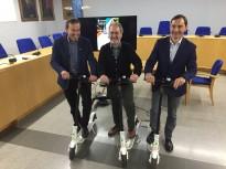 Vés a: Calvet anuncia una estratègia de mobilitat sostenible ambientalment i econòmica per al 2040