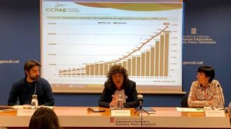Vés a: La superfície certificada en producció ecològica es multiplica per 42 de 1995 a 2018