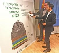 Vés a: La recollida selectiva dels residus domèstics arriba al 42% a Catalunya