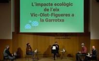 Vés a: Reclamen una moratòria de les variants d'Olot i la Vall d'en Bas des de Barcelona