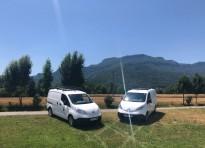 Vés a: L'Ajuntament de la Vall d'en Bas adquireix un nou vehicle elèctric