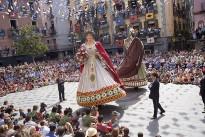 Un centenar de gegants felicitaran els d'Olot pels seus 125 anys