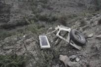 Un boletaire mor estimbat amb un 4x4 a la Cerdanya