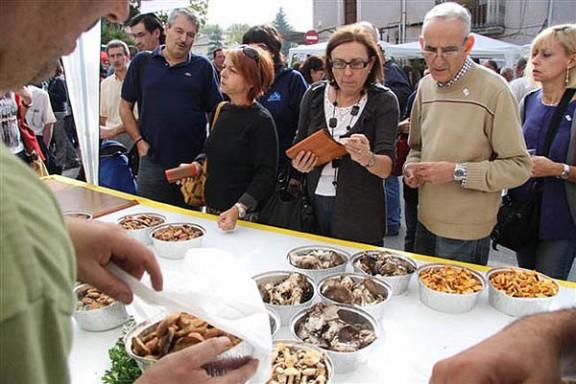 La Festa del Bolet de Seva rep una allau de visitants