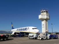 Creix en un 5,5% l'ocupació dels avions que operen des de l'aeroport de Girona