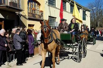 Rucs, cavalls i gossos a la Festa de la Candelera de Perafita