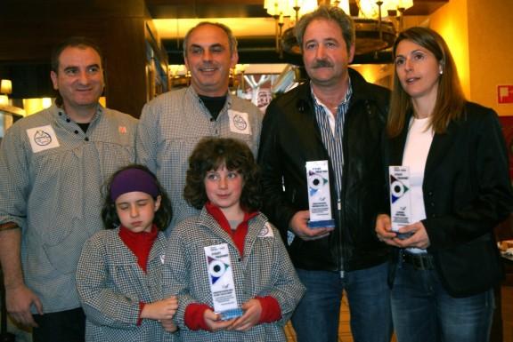 Tommy Robredo, el CIT i l'AOAPIX premis Viena d'Olot TV