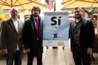 CiU i ERC, junts pel Sí a Girona