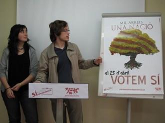 JERC Girona presenten la seva campanya pel 25-A
