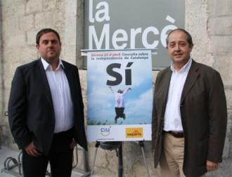 Junqueras i Puig tanquen junts la campanya pel Sí a Girona