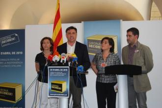Puigcercós constata que les consultes han refet ponts entre CiU i ERC