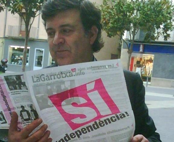 LaGarrotxa.info surt per primera vegada en format paper