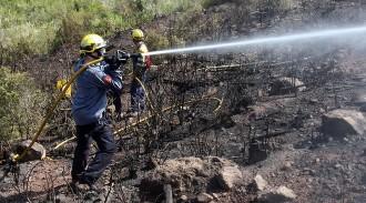 Els Bombers tanquen una campanya forestal «suau» al Berguedà