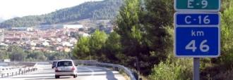 L'autopista Terrassa - Manresa tindrà peatge variable el 2014