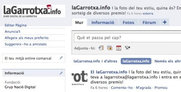 Ja ets amic de LaGarrotxa.info?