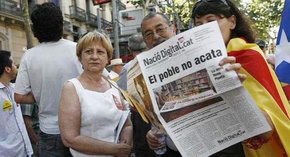 Nació Digital publica una edició en paper amb motiu de la Diada Nacional