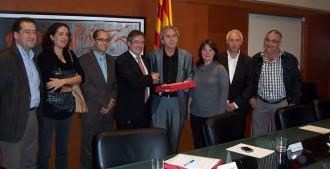 Joana Ortega no descarta que el Lluçanès pugui esdevenir comarca