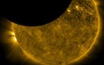 Eclipsi parcial de sol i primavera a la vista