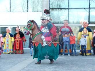 Comencen els assajos dels gegants de Carnaval i les inscripcions per els nens a les carrosses