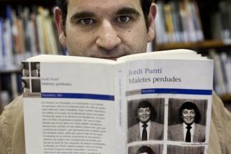 Blanca Busquets i Jordi Puntí, a la Fira del Llibre de Frankfurt