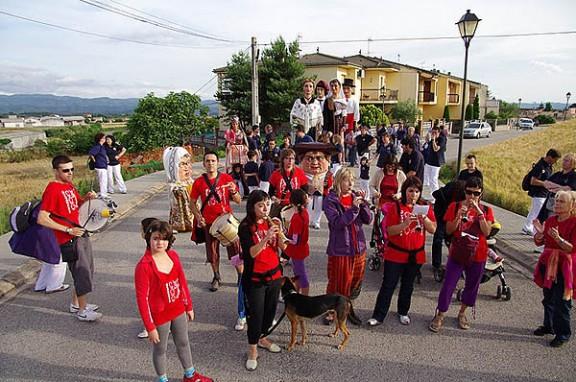 Fotos: el Solc arriba a Sant Feliu Sasserra