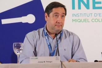 A Pelegrí no li agrada el lema «Via Catalana per la independència»