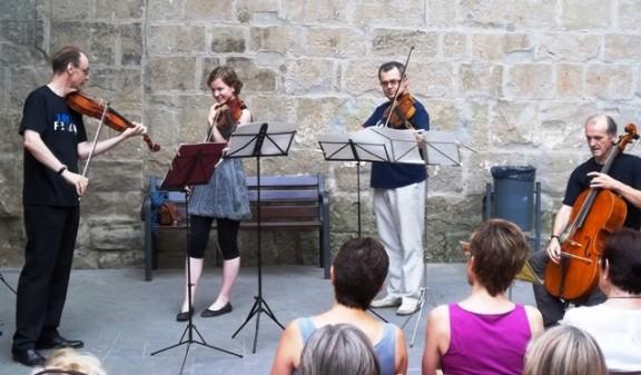 30 minuts de música clàssica a la plaça de la Catedral de Solsona