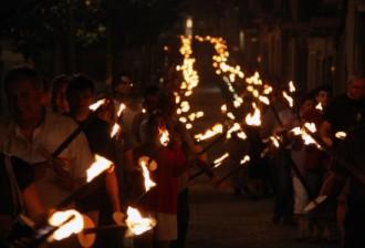 La Marxa de Torxes encetarà els actes de la Diada a Girona