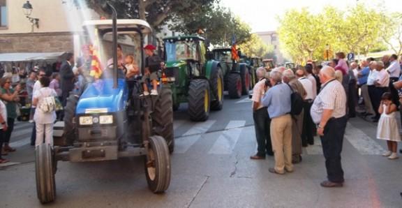 126 tractors a la XVIII Tractorada Popular del Solsonès
