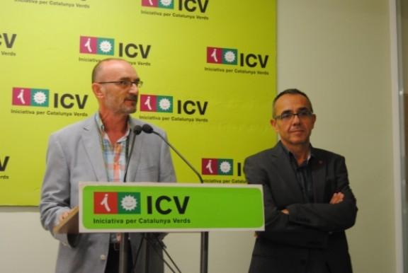 Marc Vidal, candidat d'ICV a Girona