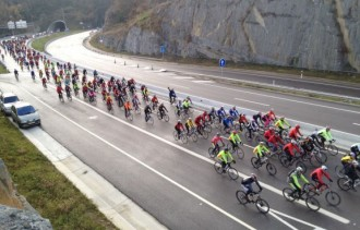 Els clubs ciclistes tornen a mobilitzar-se a la C-17