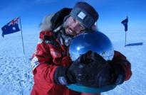 Albert Bosch converteix les «lliçons» de la seva aventura antàrtica en un llibre