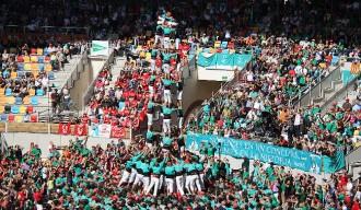 Els Castellers de Vilafranca, reis del Concurs al segle XXI
