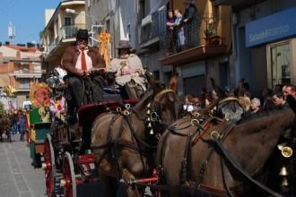 Els carrers de Sant Vicenç tornen a acollir els Tres Tombs